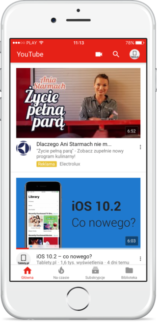 YouTube 11.45