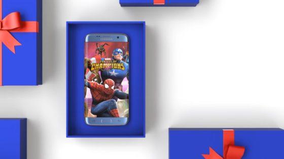 Samsung Galaxy S7 galaxy game pack