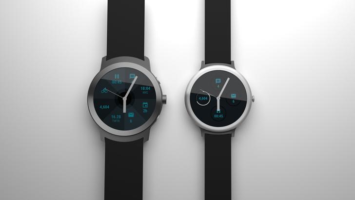 Smartwatche Google Android Wear 2.0 Angelfish Swordfish LG Watch Style LG Watch Sport
