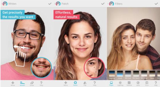 Facetune aplikacja do reutuszu zdjęć