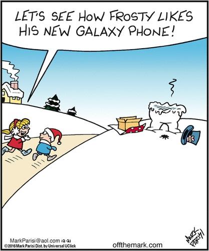 frosty Samsung galaxy note 7