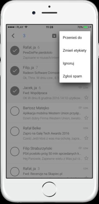 Gmail na iOS