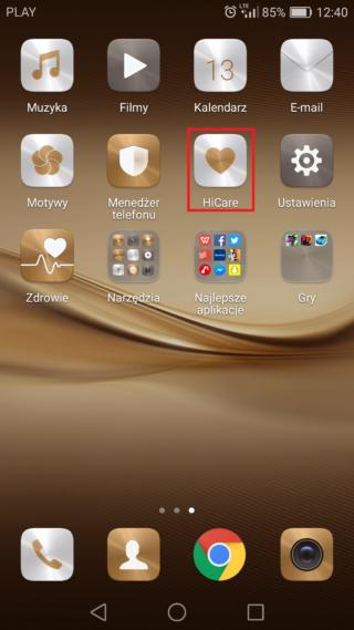 Huawei energia HiCare bezpłatna ładowarka