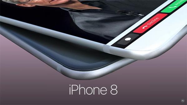 iPhone 8 Touch Bar wizualizacja