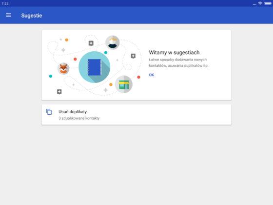 Kontakty Google 1.6