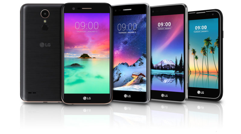 LG K10, LG K8, LG K3, LG K3, LG Stylus 3