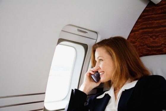 samolot rozmowy