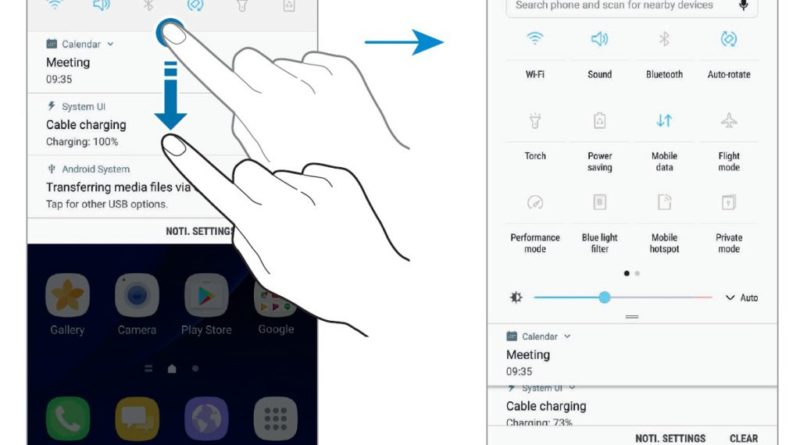 Samsung Galaxy S7 edge Android 7.0 Nougat aktualizacja instrukcja