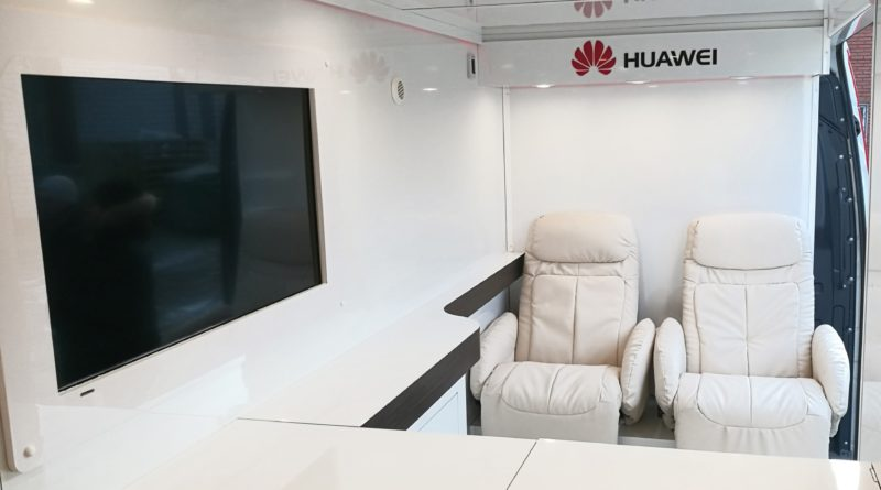 Huawei Service Truck
