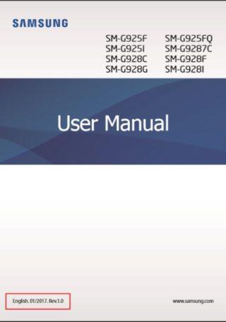 Samsung Galaxy S6 instrukcja