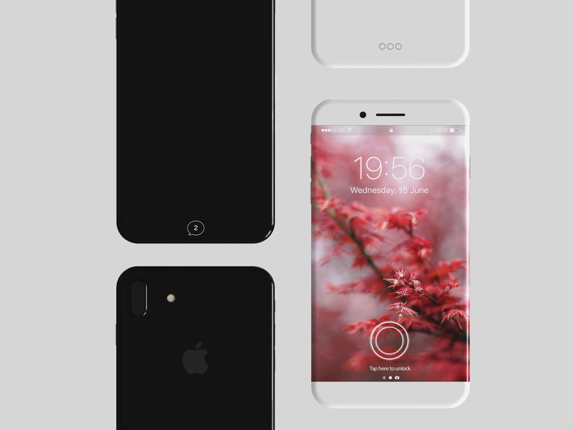 Iphone 8 Iphone X Na Kolejnej Wizualizacji Opartej Na