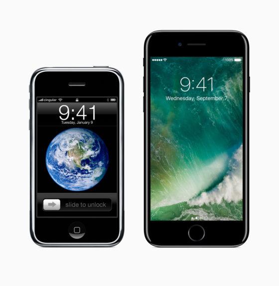 iPhone 2G iPhone 7
