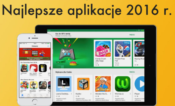 Najlepsze aplikacje 2016 roku