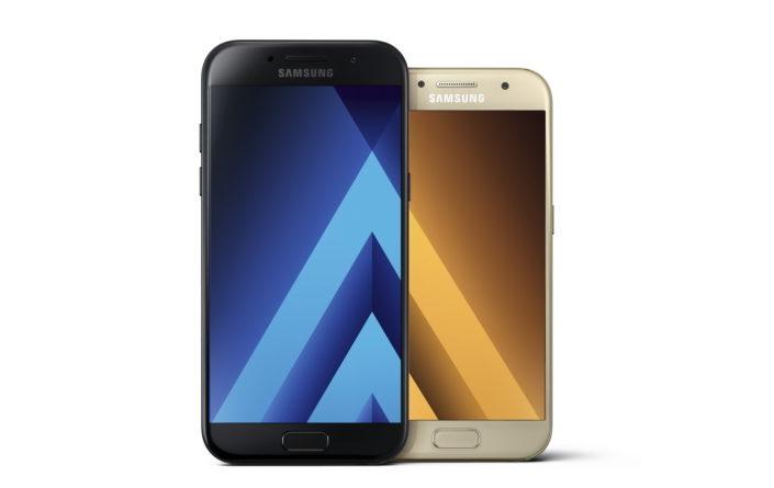 Samsung Galaxy A3 (2017) Samsung Galaxy A5 (20187)