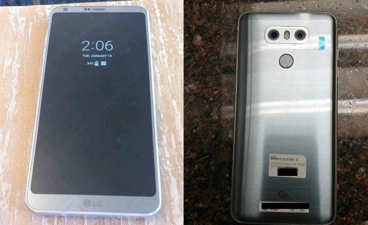 LG G6 prototyp