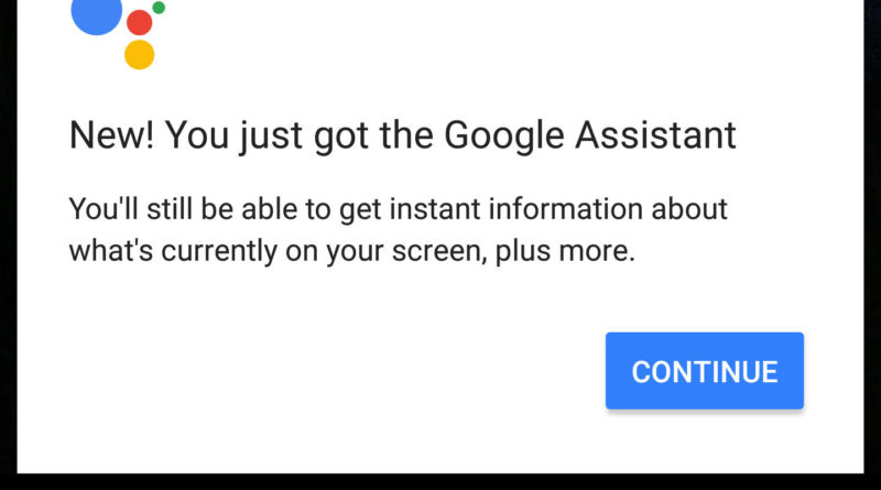 Google 6.13 alpha Google Assistant