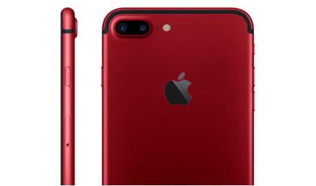 Apple iPhone 7 Plus czerwony