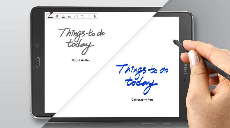 Samsung Galaxy Tab S3 z S Pen