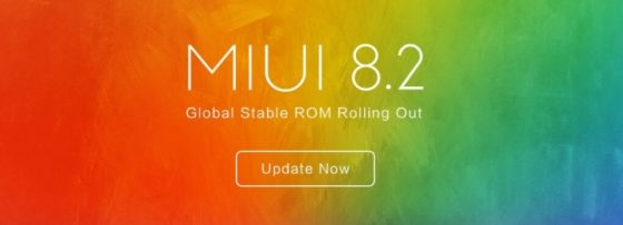 Xiaomi MIUI 8.2 Global Stable ROM