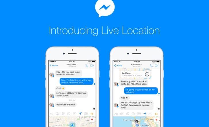 Facebook messenger lokalizacja