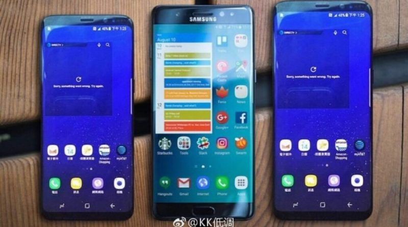 Samsung Galaxy S8 Plus Galaxy S8 Galaxy Note 7