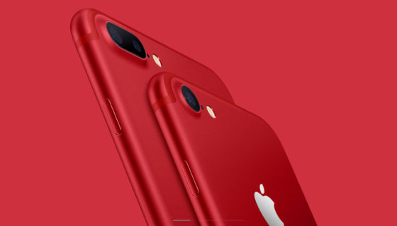Apple iPhone 7 Plus czerwony Product RED