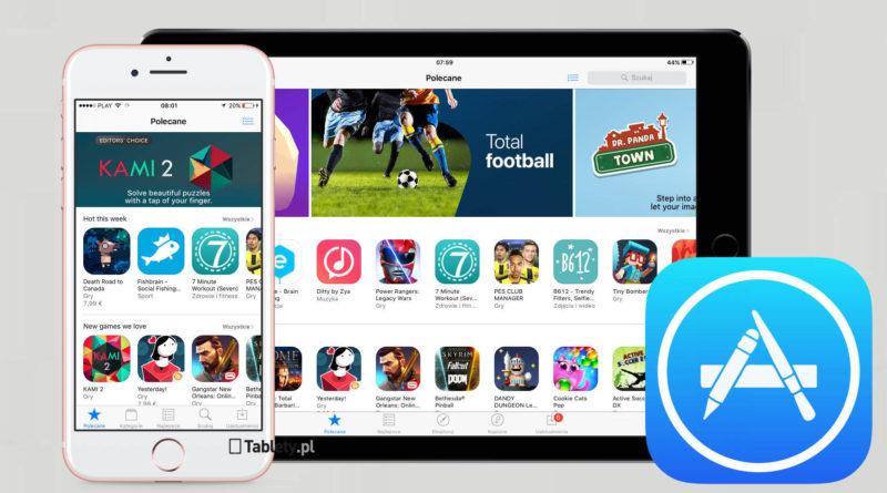 Apple App Store iOS gry i aplikacje