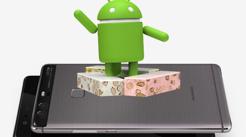 Huawei P9 Plus Android 7.0 Nougat EMUI 5.0 OTA aktualizacja