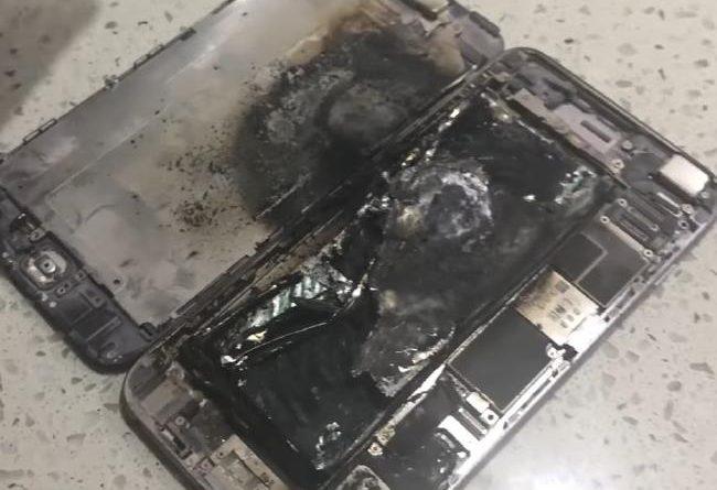 iPhone 6 Plus wybuch