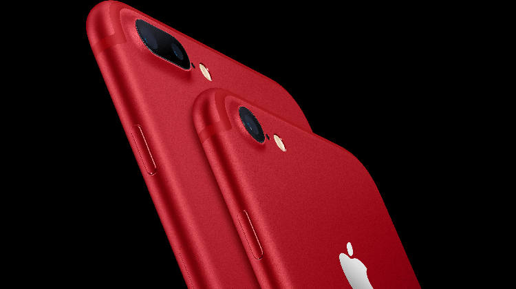 Apple iPhone 7 Plus czerwony Product RED