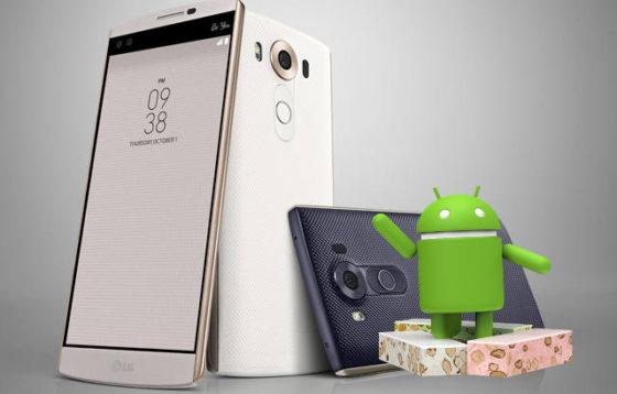 LG V10 LG G4 Android 7.0 Nougat aktualizacja