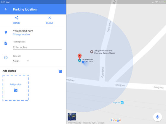Mapy Google 9.49 beta