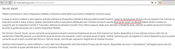 Samsung Galaxy S8 asystent głosowy Bixby
