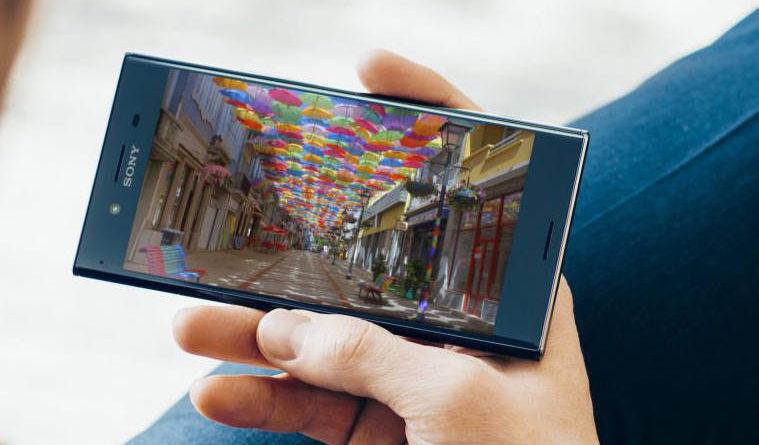 Sony Xperia XZ Premium ekran 4K UHD