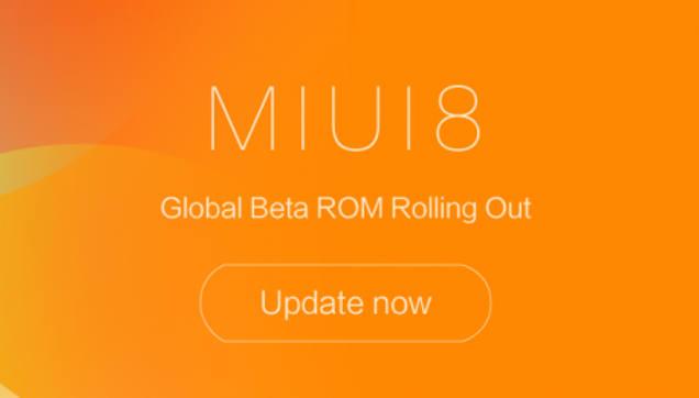 Xiaomi MIUI 8.2 beta 7.3.2 Global Beta ROM
