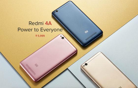 Xiaomi Redmi 4A ciemnoszary