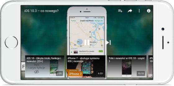 YouTube iOS iPhone aktualizacja