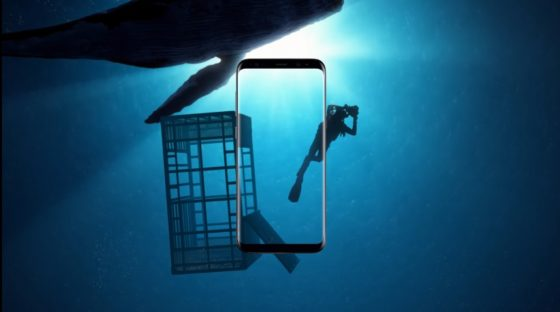 Samsung Galaxy S8 reklama