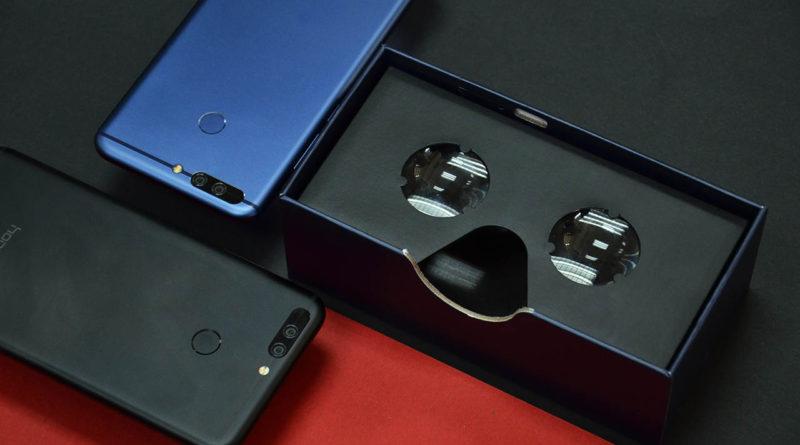 Huawei Honor 8 Pro z aplikacjami Jaunt VR oraz Quick od GoPro