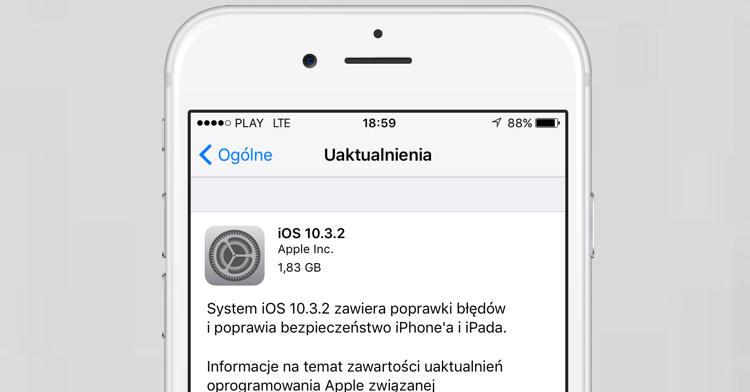 Apple iOS 10.3.2 macOS 10.12.5 tvOS 10.2.1 watchOS 3.2.2
