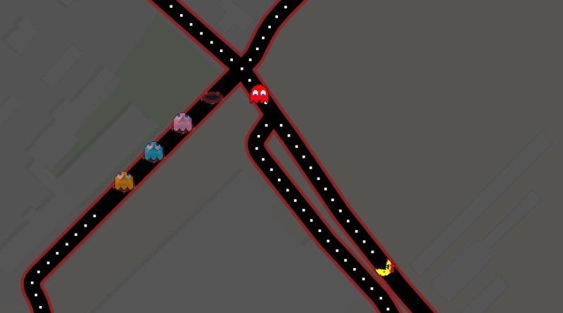 mapy google pac-man prima aprilis