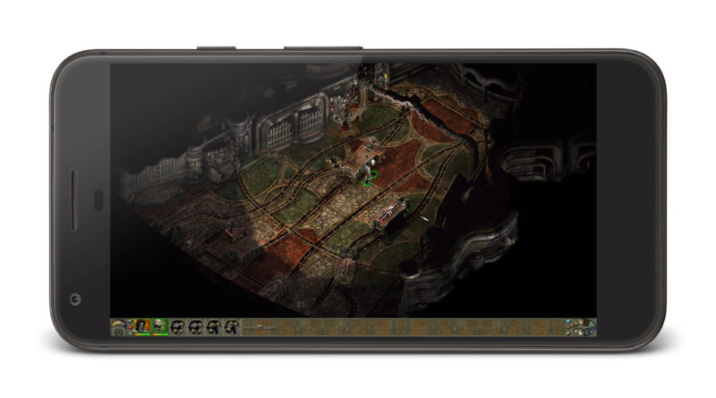 Planescape Torment gry Android iOS