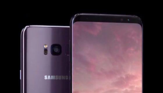 Samsung Galaxy S8 reklamy