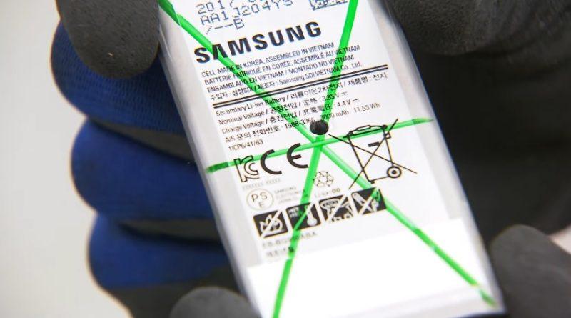 samsung galaxy s8 test baterii