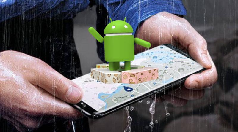 Samsung Galaxy S8 Android 7.0 Nougat