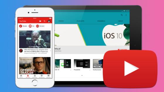 YouTube porady triki aplikacja iOS Android