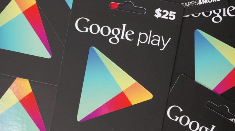 Google Sklep Play karta