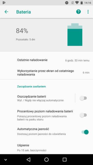 Android O bateria