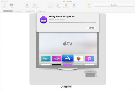 Apple TV tvOS 11 beta 1