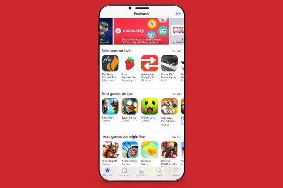 iPhone 8 wizualizacja